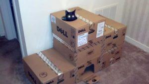 Как можно сделать дом для кошки своими руками из коробки