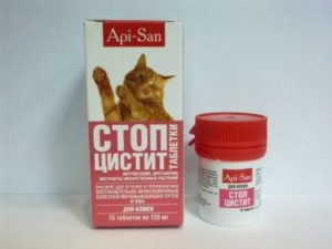 применять Стоп-цистит для кошек